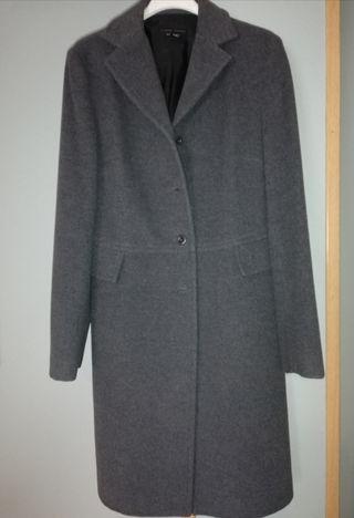 Abrigo Zara gris