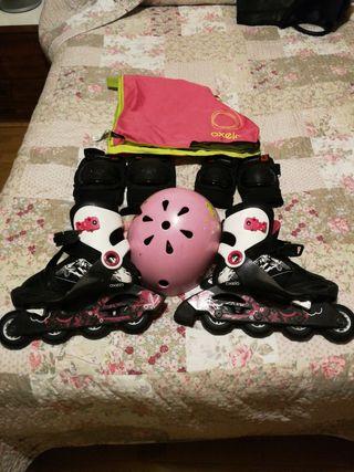 Conjunto patines