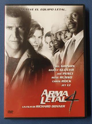 DVD - Arma letal 4