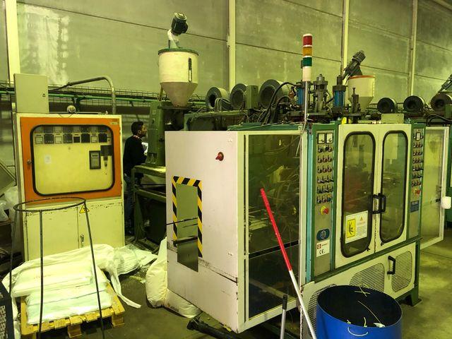Maquinas extrusoras sopladoras botellas