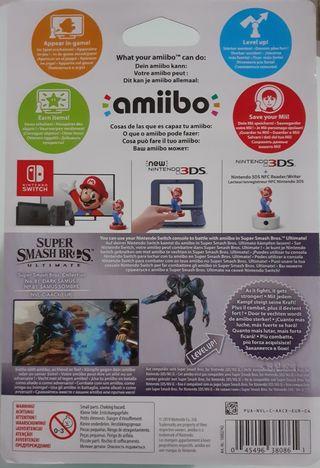 PRECINTADO - Amiibo DARK SAMUS - SUPER SMASH BROS