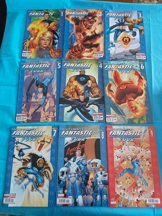 comics ultimate fantástic four semicompleta