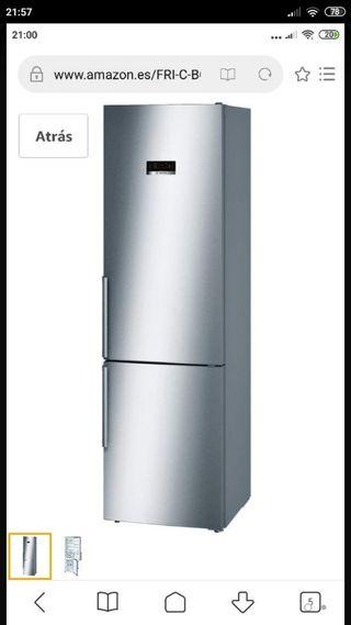 nevera combi frigorífico a+++