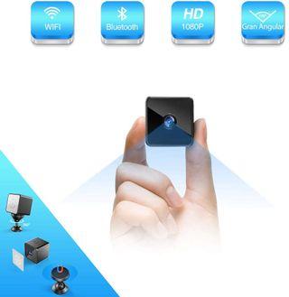Camara Espia Mini Altavoz Bluetooth Wifi 1080p