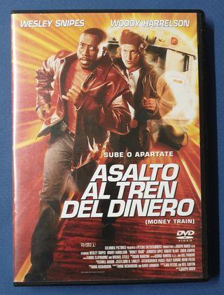 DVD - Asalto al tren del dinero