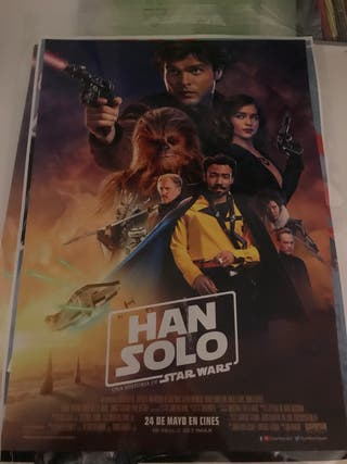 Poster Han Solo Pelicula Star Wars