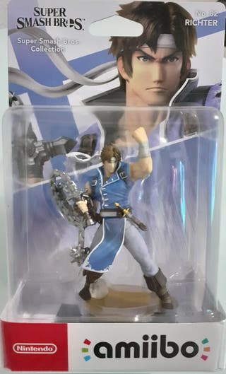 PRECINTADO - Amiibo RICHTER - SUPER SMASH BROS