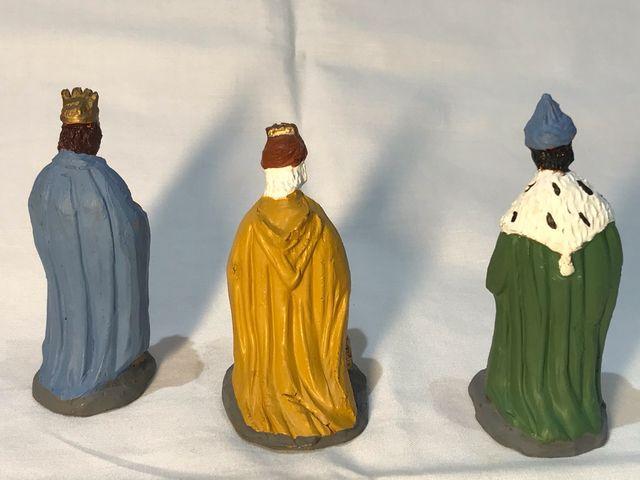 Figuras de belén o nacimiento. Reyes Magos 7 cm.