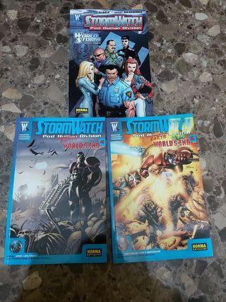 comics tomos StormWatch worlds end