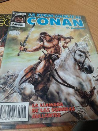 Cómics de Conan