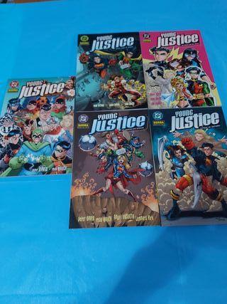 comics tomos young justice