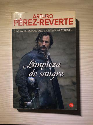 """""""Limpieza de sangre"""" de Arturo Pérez-Reverte"""
