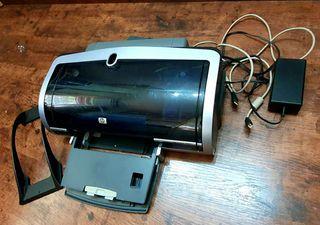 Impresora HP Deskjet 5850 + papel fotografico (Mas articulos informatica en mi Perfil