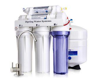 Sistema de filtrado de ósmosis inversa de 5 etapas