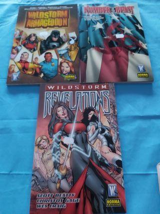 comics lote wildstorm