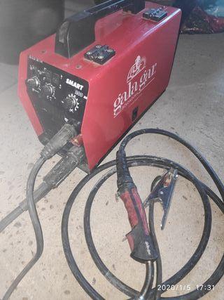 soldadora inverter semiautomática