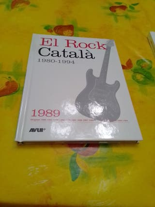 Vendo 3 Libros con CD de El Rock Catala