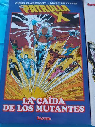 comics la patrulla x la caída de los mutantes
