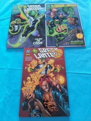 comics green lantern completa