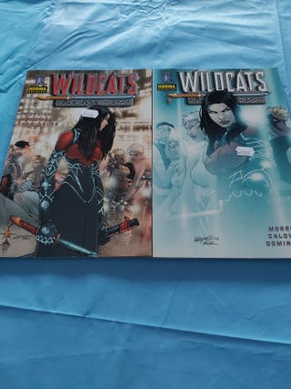 comics wildcats nemesis completa