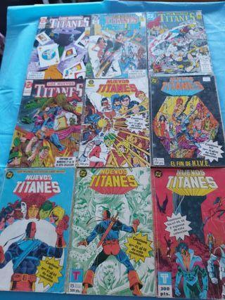 comics los nuevos titanes antiguos