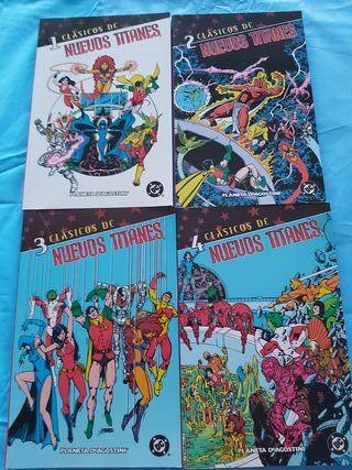 comics clásicos dc los nuevos titanes