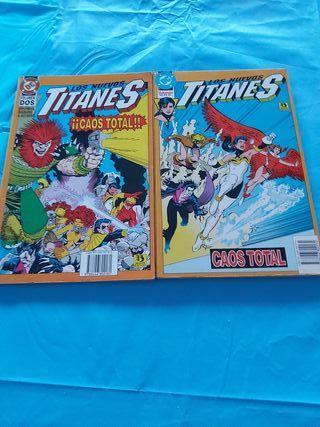 comics titanes caos total