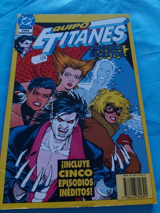comics equipo titanes