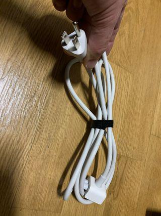 Cable alargador cargador Mac