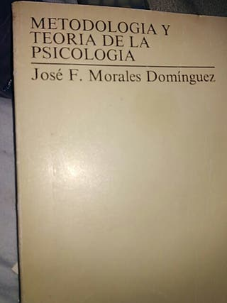 METODOLOGIA Y TEORIA DE LA PSICOLOGÍA UNED