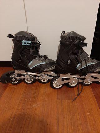 patines en línea número 37