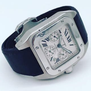 Cartier Santos 100 XL Chrono