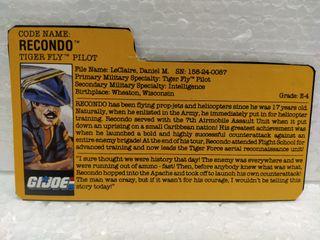 Gi Joe FILECARD RECONDO V. 2 de 1988. TIGER FORCE.