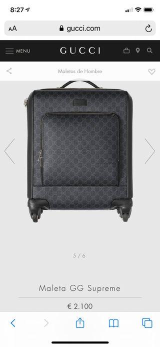 Maleta y bolsa Gucci ORIGINAL