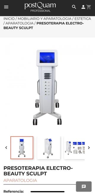 Máquina presoterapia