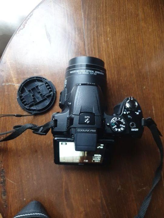 cámara Nikon coolpixp510