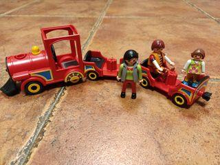 Playmobil tren parque atracciones