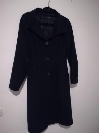 purificacion garcia abrigo azul marino