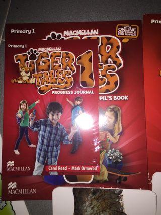Libro NUEVO INGLES TIGER MACMILLAN 1 de primaria