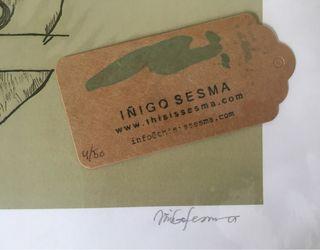 Litografia numerada IÑIGO SESMA