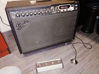 Amplificador de guitarra fender cyber twin. 130w
