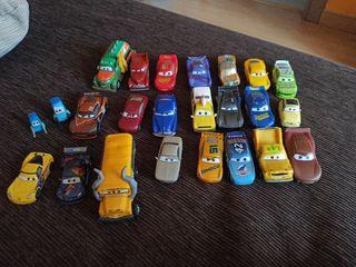 coches de la película Cars