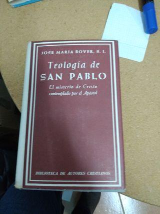 TEOLOGÍA DE SAN PABLO - JOSÉ MARÍA BOVER