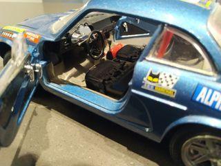 Coche Renault ALPINE A110 BURAGO 1/16