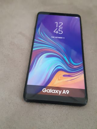 Telefono Movil samsung galaxy A9 maqueta