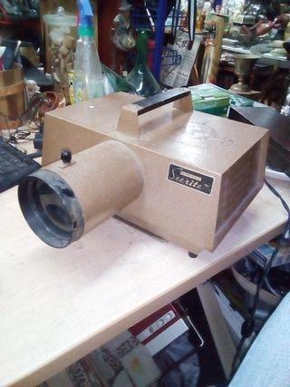 Proyector vintage Seerite 6x6 opaque projector