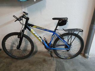 Bicicleta mtb + transportin trek