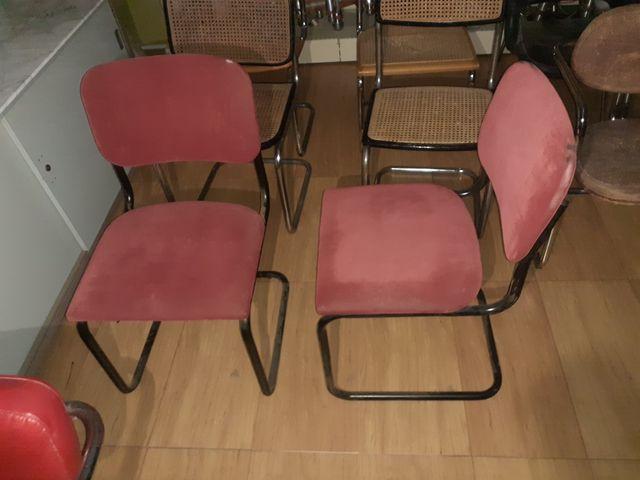 2 sillas tipo cesca