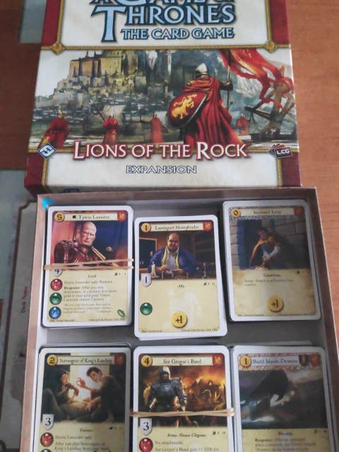 Juego de tronos LCG. Lannister