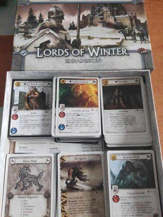 Juego de tronos LCG. Stark.